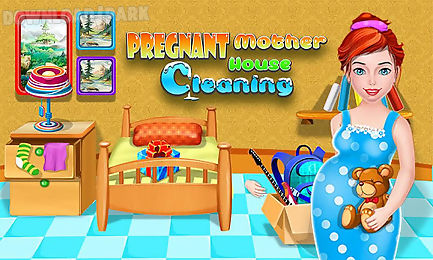 mother house - cleaning games