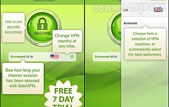 Solovpn anonymous, safe & fast
