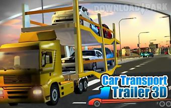 3d car transport trailerpack