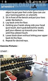 abs and chest workouts