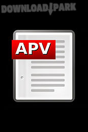 apv pdf viewer