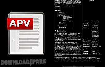Apv pdf viewer
