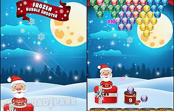 Bubble shooter: frozen puzzle