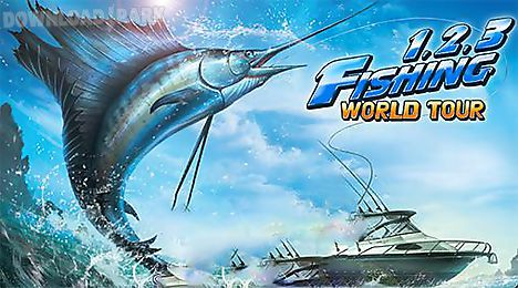 fishing hero. 1, 2, 3 fishing: world tour