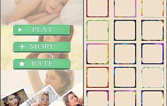 Foto grid collage art