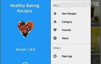 Healthy baking recipes