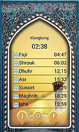salaat timings alarm