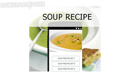 Soup recipes food android app free download in apk free apk files recipes apps forumfinder Image collections