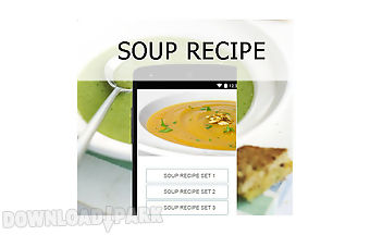 Soup recipes food