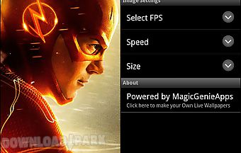 The flash movie live wallpaper