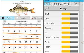 Fish planet calendar