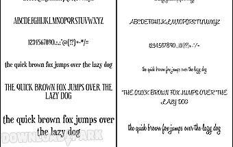 Fonts for flipfont 50 #9