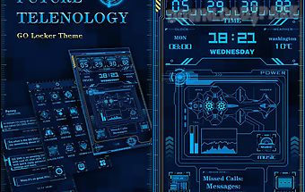 Future technology locker theme