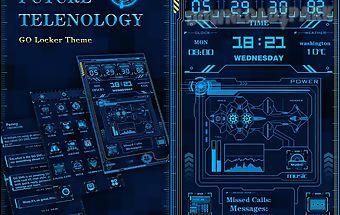 Future technology locker theme