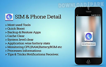 Sim phone details