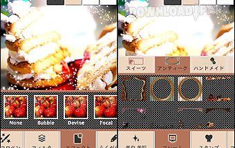 Sweet camera ~photo decoration