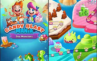 Candy blast mania: sea monsters