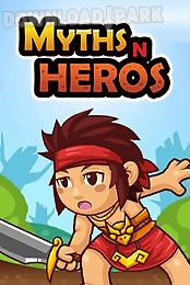 myths n heros: idle games