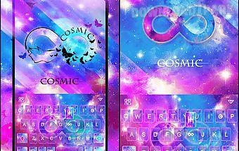 Cosmic emoji theme forkeyboard