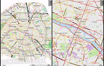 Paris offline city map lite