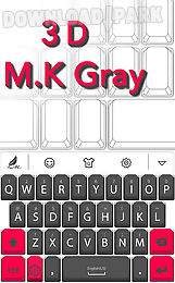 3d m.k red for hitap keyboard