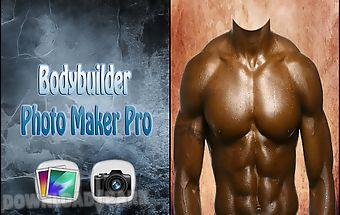Bodybuilder photo maker pro