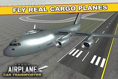 cargo airplane car transporter