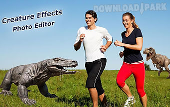 Creature effects photo editor