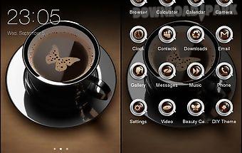 I love coffee theme c launcher