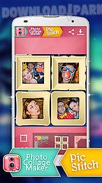 photo collage maker pic stitch