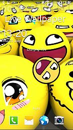 smiley face live wallpaper