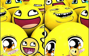 Smiley face live wallpaper