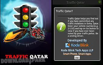 Traffic qatar