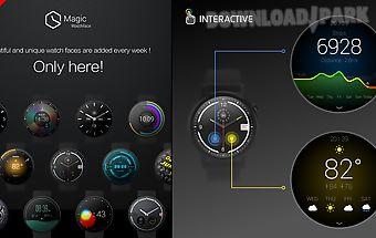 Watch face -ticker-interactive