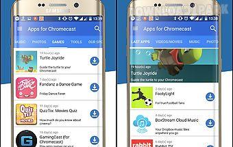 Apps for chromecast