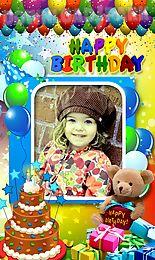 birthday photo frames new