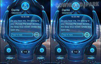 Go sms pro universe theme ex