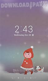 snowy day dodol locker theme