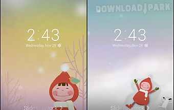 Snowy day dodol locker theme