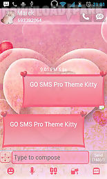 theme kitty for go sms pro