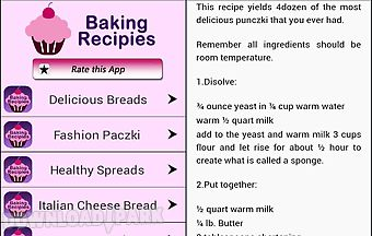 Baking recipe cooking tips