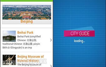 Beijing guide hotels weather