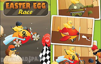Easter egg race