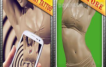 Instant tattoo magic photo cam