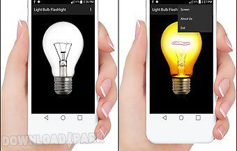 Light bulb: flashlight