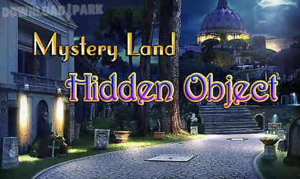 mystery land: hidden object