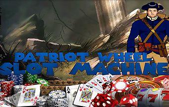 Patriot wheel slot machine