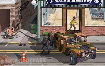Street shooting game