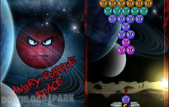 Angry bubble space