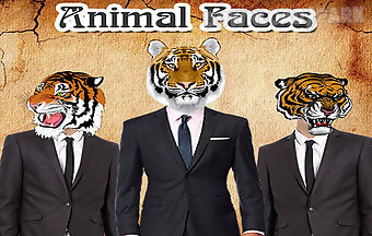 Animal faces photo